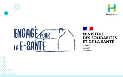 """Hospitalink s'engage et signe la charte """"Engagé pour la E-Santé"""""""